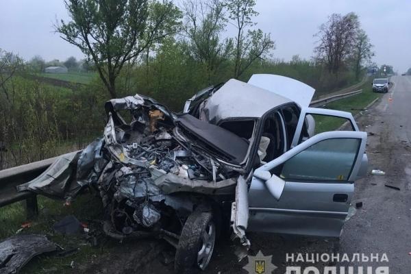 На автодорозі «Київ-Чоп» у ДТП постраждало троє людей (Фото, відео)