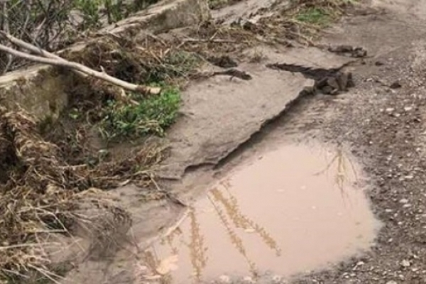 Негода на Рівненщині пошкодила дві автодороги в Дубенському районі (фото)