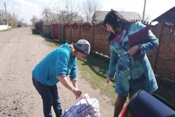 На Дубенщині надали гуманітарну допомогу п'яти сім'ям з дітьми