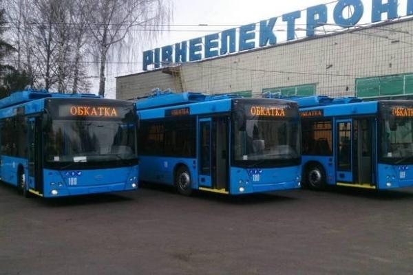 У Рівному подорожчає проїзд у тролейбусах