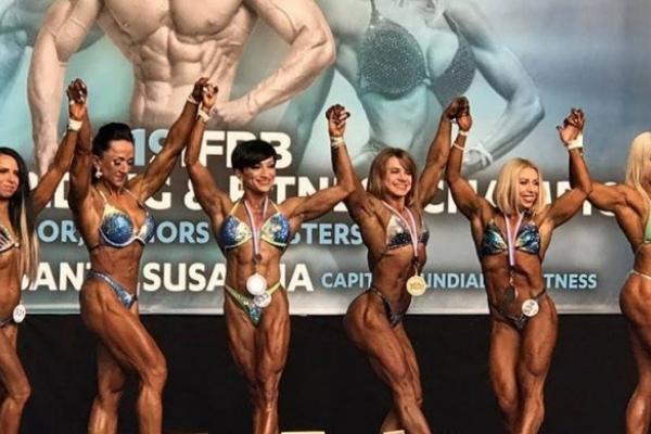 Рівненська атлетка перемогла на Чемпіонаті Європи з бодібілдингу (Фото)