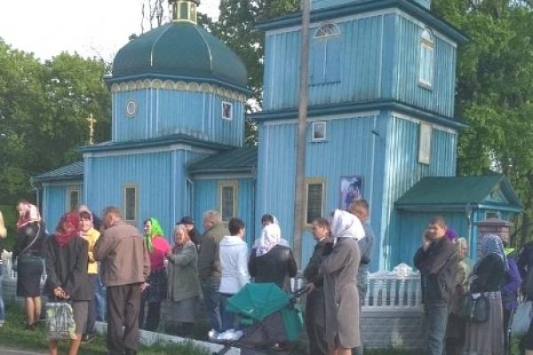 У Будеражі на Здолбунівщині парафіяни УПЦ МП не дали провести молебень ПЦУ