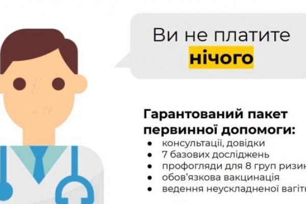 Медзаклади первинки Рівненщини фінансуються за системою «гроші за пацієнтом»