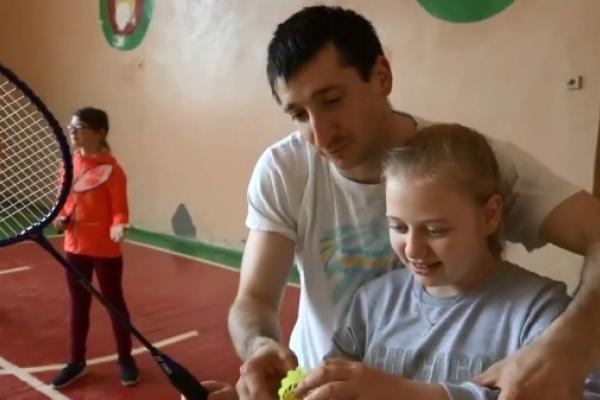 Федерація бадмінтону Рівненської області провела урок-презентацію для школярів (Відео)