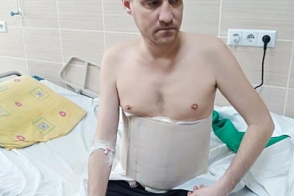 Спілка ветеранів АТО Рівненщини просить допомогти воїну з лікуванням (Фото)