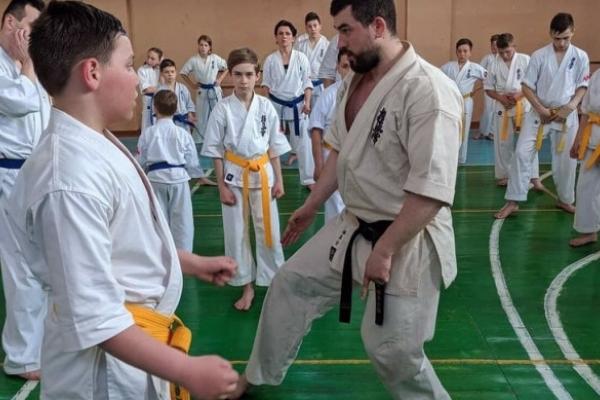 У Рівному одночасно тренувалось 170 каратистів