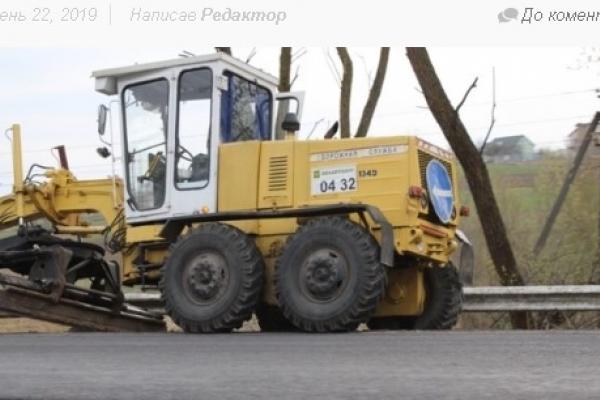 На дороги Володимиреччини у 2019 році виділили більш як 38 мільйонів гривень