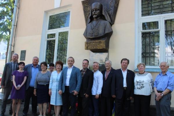 Міністру освіти УНР відкрили меморіальну дошку у Рівному (Фото)