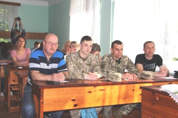Курс перепідготовки військовослужбовців ЗСУ стартував у Рівному