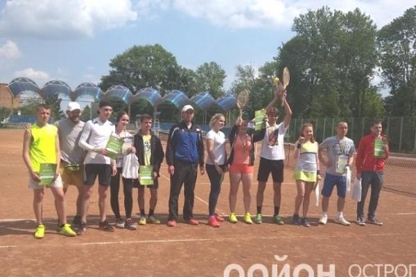 Змагання з великого тенісу серед студентів України відбулося в Острозі