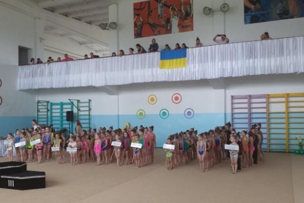 У Костополі відбувся Міжобласний турнір з художньої гімнастики