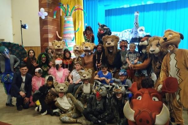 Заради дітей у Смигу завітали «саксаганці» (Фото)