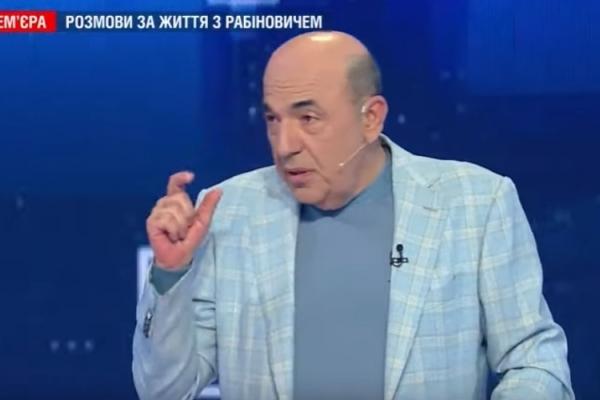Рабінович: Зеленського вибрали тому, що він обіцяв мир, і тепер люди чекають конкретних кроків