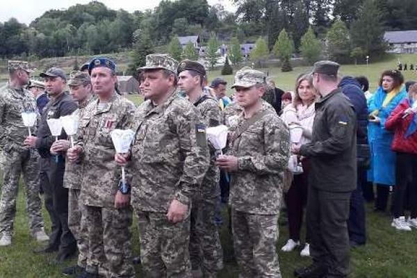 У 61 Міжнародному військовому паломництві в Лурді взяли участь і українські військові