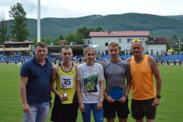 Рівненські легкоатлети здобули два золота у Польщі