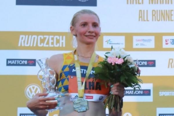 Спортсменка з Рівного Ольга Котовська здобула срібло престижного півмарафону в Чехії