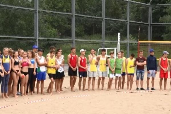 У Рівному стартував чемпіонат України з пляжного волейболу (Відео)