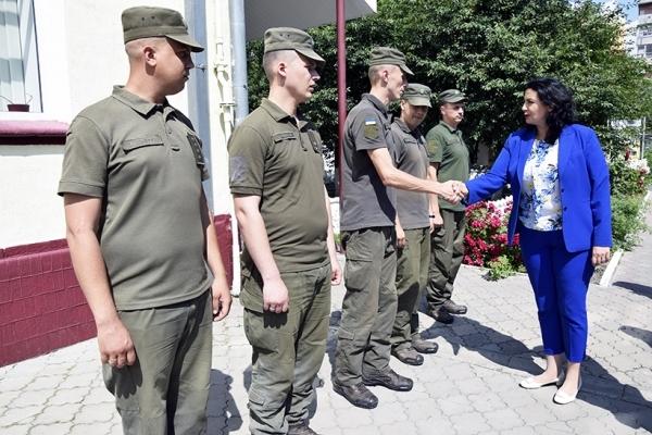 Рівненську частину Нацгвардії відвідала Віце-прем'єр-міністр з питань європейської та євроатлантичної інтеграції України