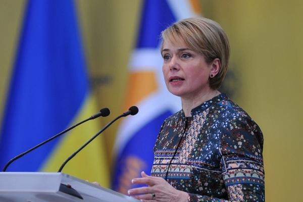 Міністр освіти Лілія Гриневич попереджає про російський реванш в Україні (Відео)