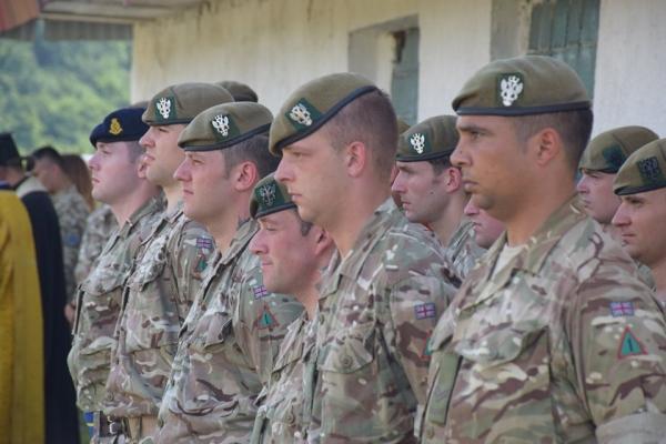 На Рівненському полігоні розпочалися навчання в рамках британської навчально-тренувальної місії ОРБІТАЛ
