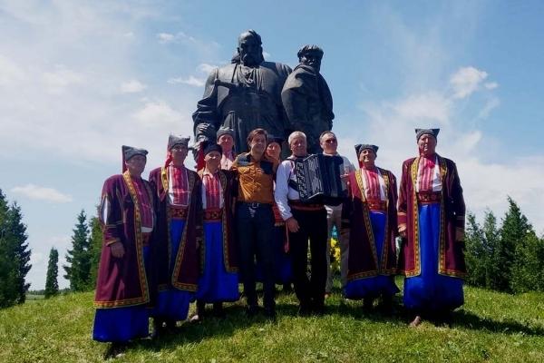 У День Конституції України Рівненщину відвідав міністр культури Євген Нищук (Фото, аудіо)