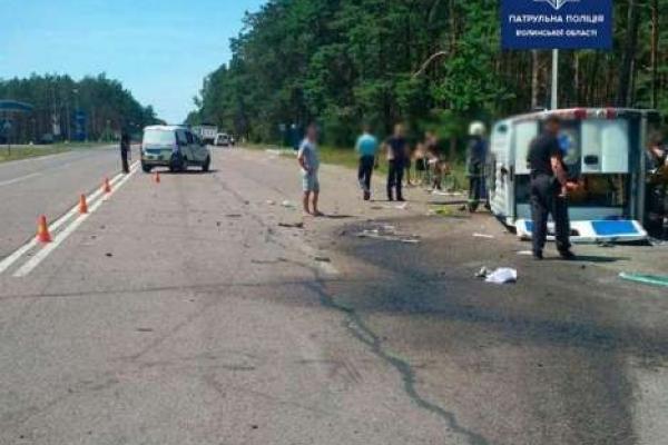Водій вантажівки із Сарн на Волині не пропустив швидкої, що призвело до загибелі людей