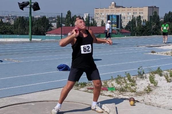 У 60-річного Михайла Вдовина знову золотий рекорд