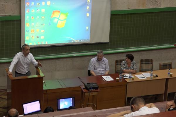 У Рівненському виші відбувся круглий стіл «Екологія Погорини» (Відео)