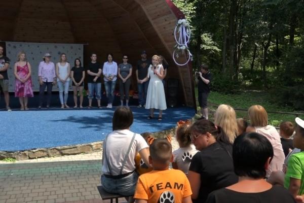 На Рівненщині запрацював табір для дітей з аутизмом (Відео)