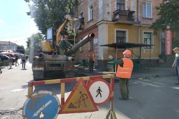 У Рівному на Пересопницькій розпочався ремонт тепломережі