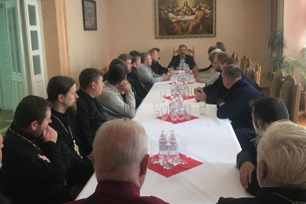 Представники духовенства Рівненської єпархії зустрілися з Народним депутатом України Віктором Єленським