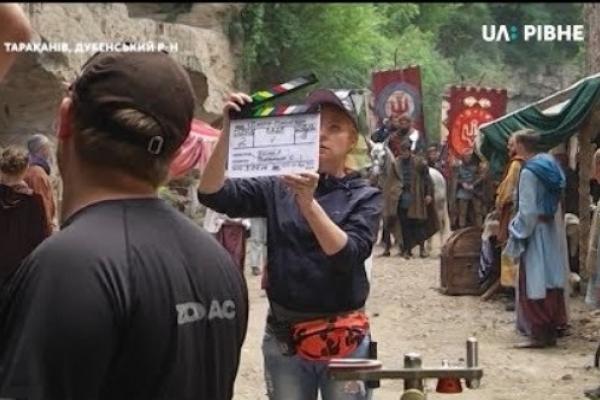 На Дубенщині на локаціях Тараканівського форту знімають кіно