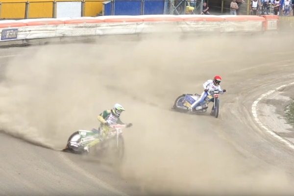 У Рівному відбувся відкритий чемпіонат міста зі спідвею (Відео)