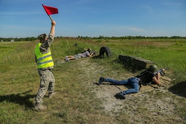 Резервісти Рівненщини вдосконалюють бойові навички
