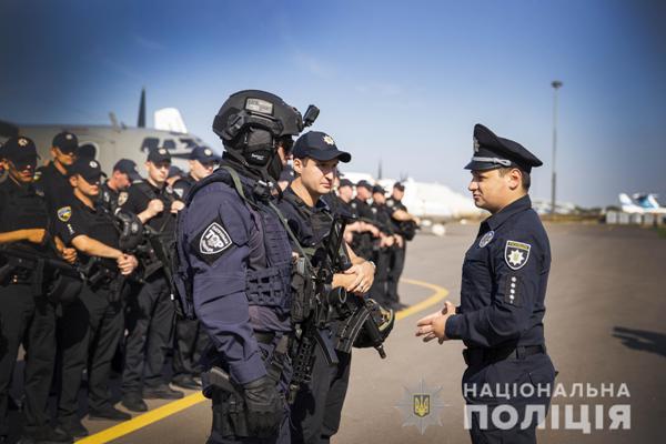 Перед виборами 21 липня вперше на чергування заступили групи зведених загонів авіапідтримки Нацполіції