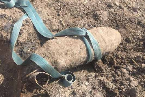 Три фугасні авіаційні бомби часів Другої світової війни знищили піротехніки в Радивилівському районі
