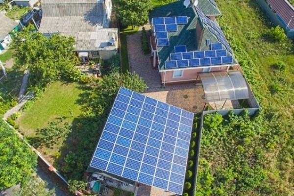 На Рівненщині 217 домогосподарств, які використовують сонячні електростанції