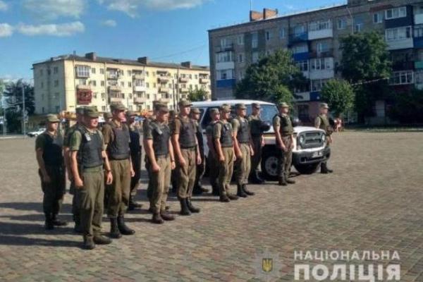 Нацгвардійці патрулюють вулиці в Рівному та Сарнах з 1 серпня. Що змінилося?