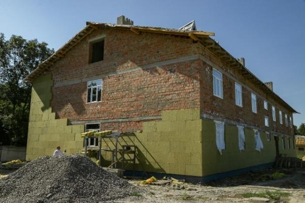 У Рівному триває будівництво житла для військових-контрактників