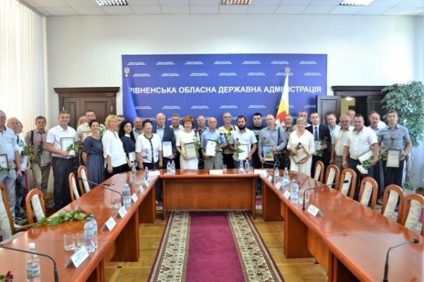 Кращі підприємці Рівненщини отримали нагороди