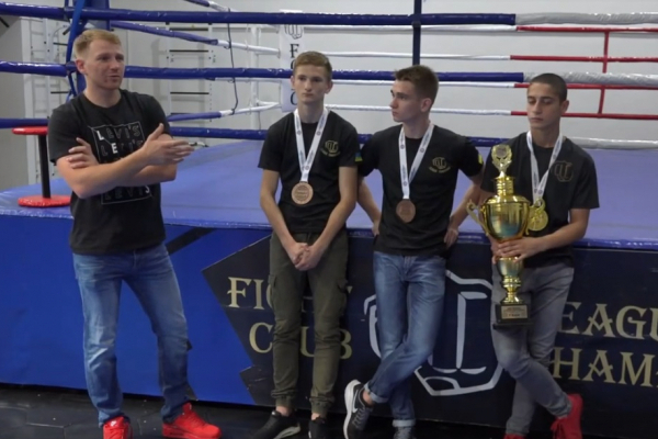 Рівненські юнаки успішно виступили на чемпіонаті Європи з кікбоксингу WAKO (Відео)