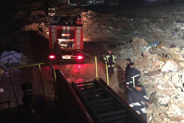 Вогнеборці ДСНС ліквідували пожежу на сміттєзвалищі поблизу села Бармаки та міста Рівне (Фото)