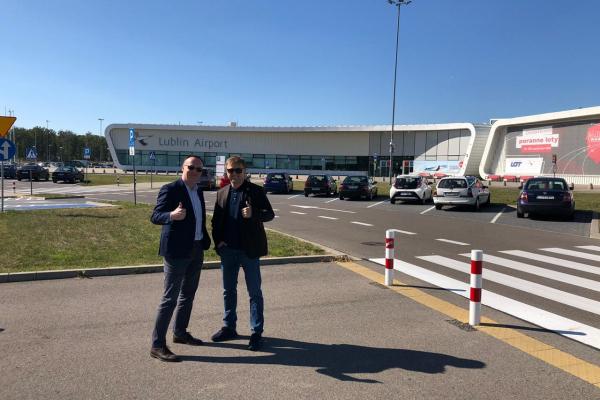 Голова Рівненської ОДА поїхав до Любліна за досвідом