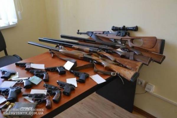 На Рівненщині розпочинається місячник добровільної здачі зброї