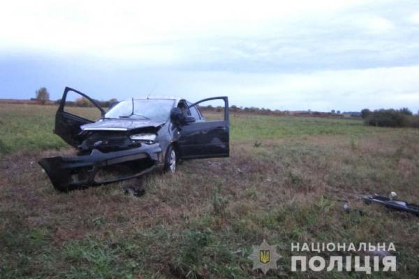 На Кореччині у ДТП постраждала сім'я рівнян (Фото)