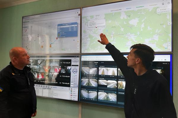 Як працює сучасна система моніторингу Служби порятунку Рівненщини? (Фото)