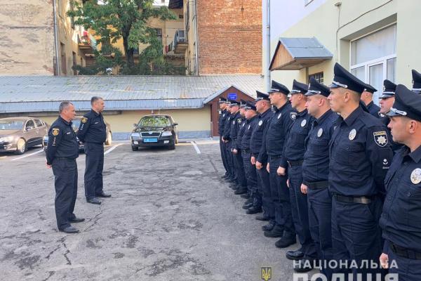 Тридцять правоохоронців із Рівненщини навчатимуться у Львові (Фото)