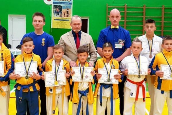 Рівненські каратисти на Чемпіонаті України з кйокушінкаі карате Унія України