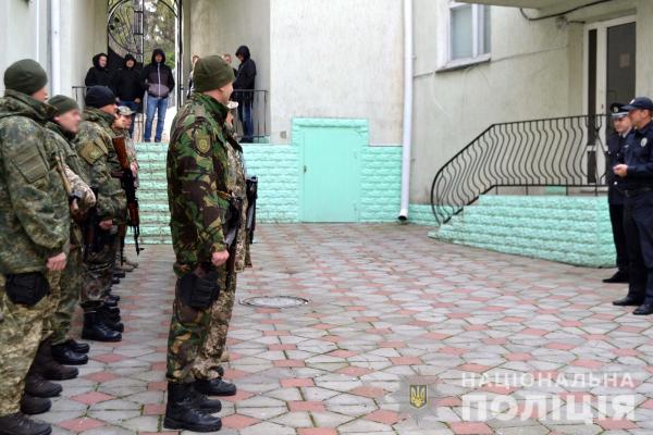 Поліцейські Рівненщини вирушили у зону ООС
