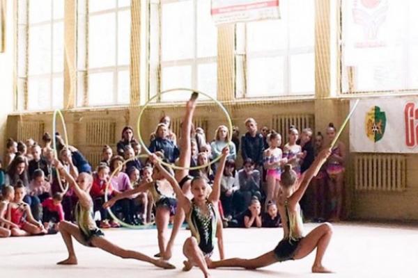 У Рівному відбулися два турніри з художньої гімнастики